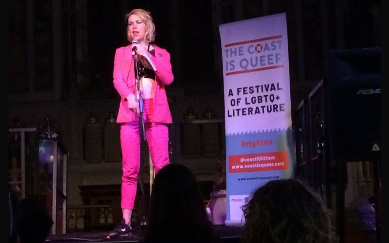 Brighton turned the sunshine on for its exciting new queer literature festival