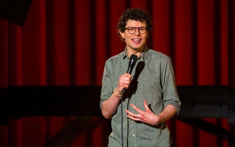 Intimacy issues and sex-party dilemmas - Simon Amstell has been set free