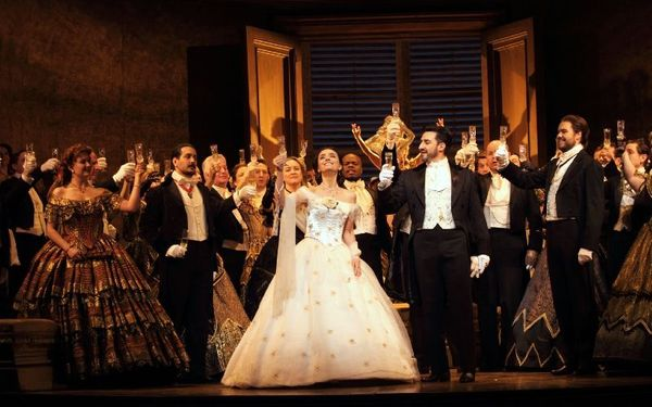 La traviata delivers the drama and passion at the Royal Opera House